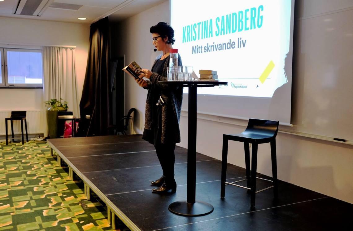 Kristina Sandberg inspirerar på #skriv2017