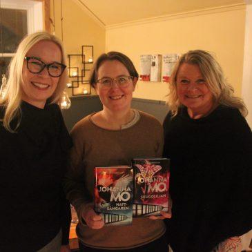 Johanna Mo blev vår premiärgäst hos Ölandsförfattarna!