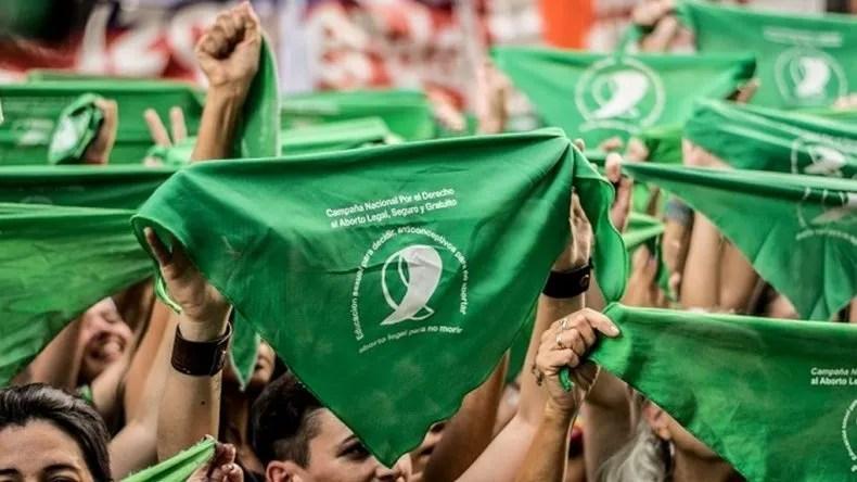 El pañuelazo nacional tendrá eco en Comodoro