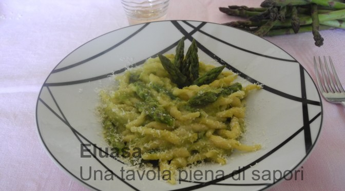 Trofie con asparagi