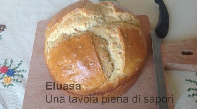 Pane condito con esubero di pasta madre