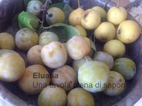 frutta susine e pere