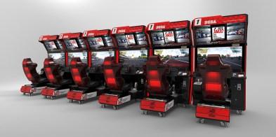 SEGA World Drivers Championship kabinet2