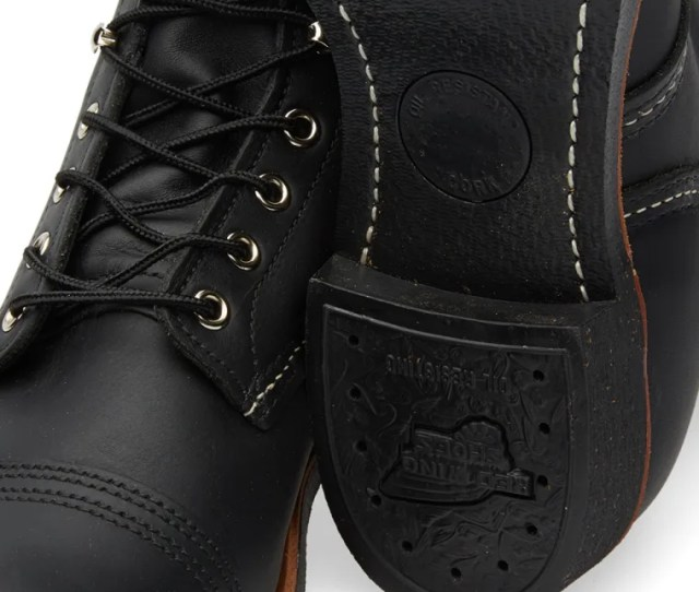 Red Wing  Iron Ranger Boot Black Harness
