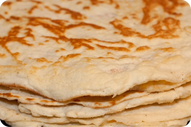 LCHF-Tortillas staplade