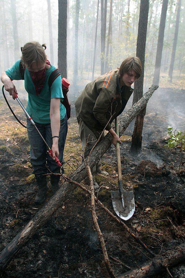 Extinguishing Wildfires 33