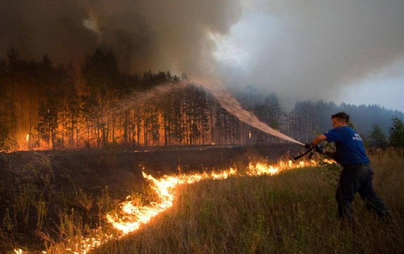 Extinguishing Wildfires 66