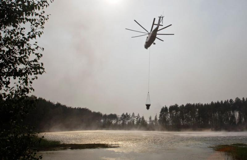 Extinguishing Wildfires 71