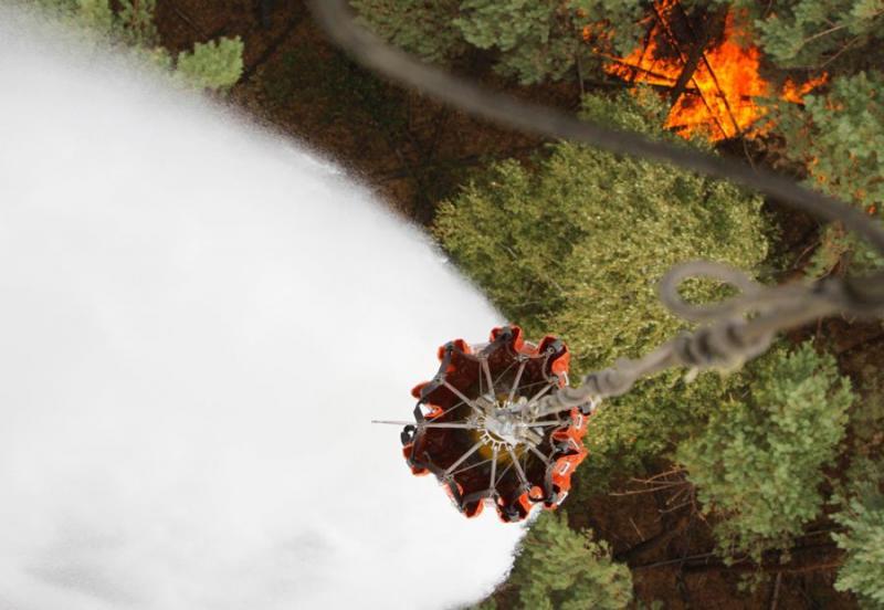 Extinguishing Wildfires 73
