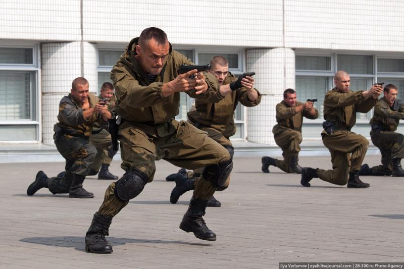 Moscou, 15 SWAT