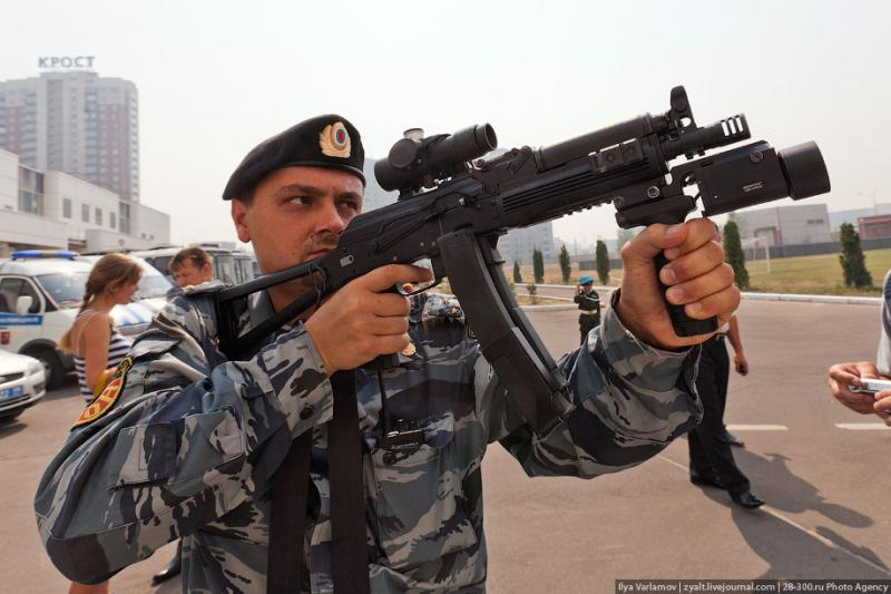 Moscou, 22 SWAT