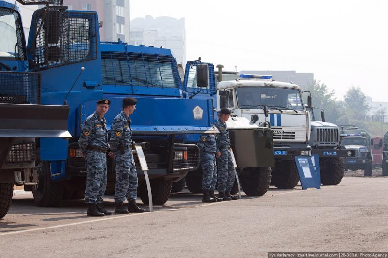 Moscou, 25 SWAT
