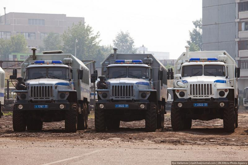 Moscou, 27 SWAT