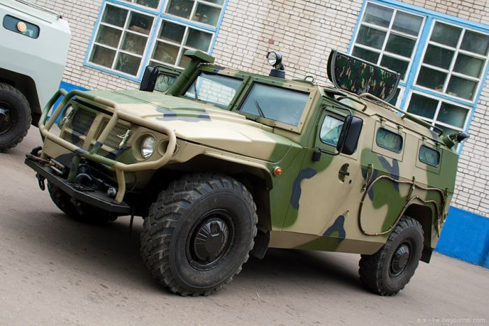 Armed Vehicles Factory 68