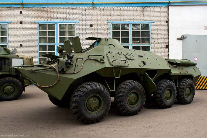 Armed Vehicles Factory 72