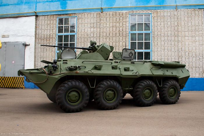Armed Vehicles Factory 73
