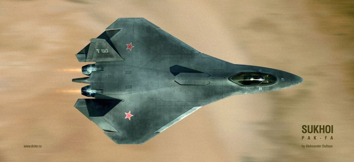 Russian stealth plane 7