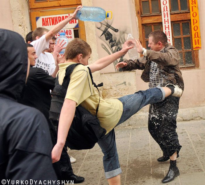 molesting russian pranksters from Ukraine 21