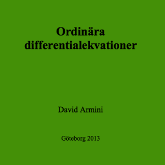 Ordinära differentialekvationer