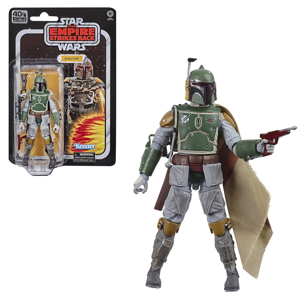 Star Wars The Black Series Empire Strikes Back 40th Anniversary 6 Inch Boba Fett Action Figure