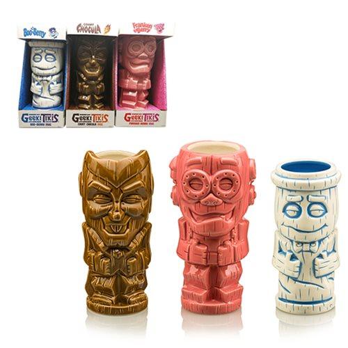 Cereal Monster Geeki Tiki Mug 3-Pack Set