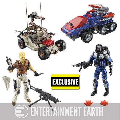 G I Joe 25th Anniversary Target Exclusive Attack On Cobra Island Vehicles Target