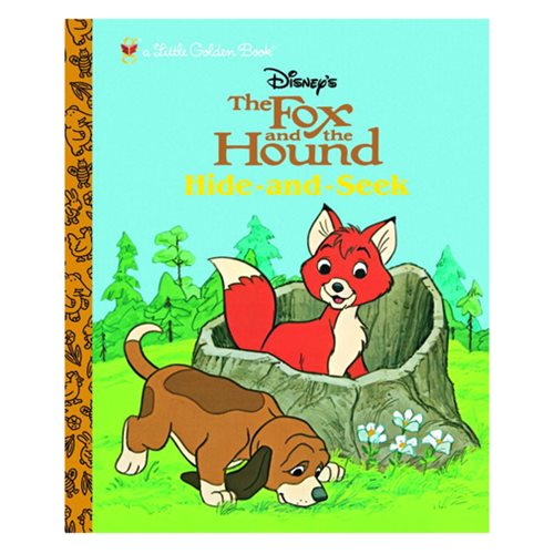 The Fox And The Hound Hide And Seek Little Golden Book