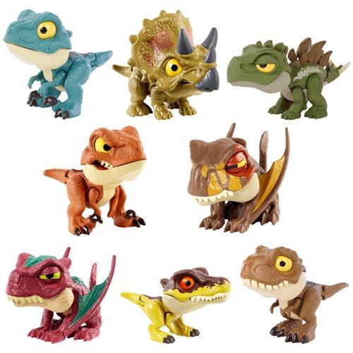 Jurassic World Snap Squad Attitudes Case of 4