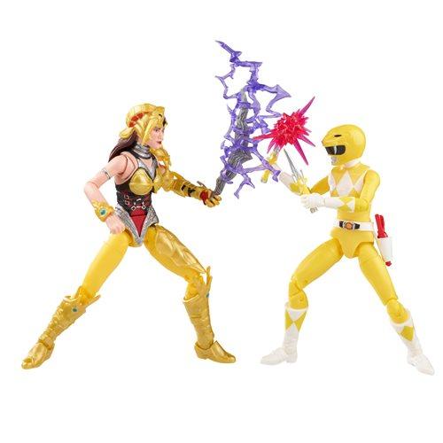 Power Rangers Lightning Collection Yellow Scorpina Figures