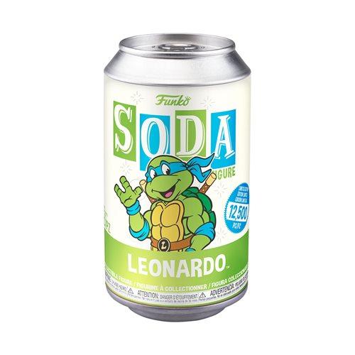 Teenage Mutant Ninja Turtles Leonardo Soda Vinyl Figure