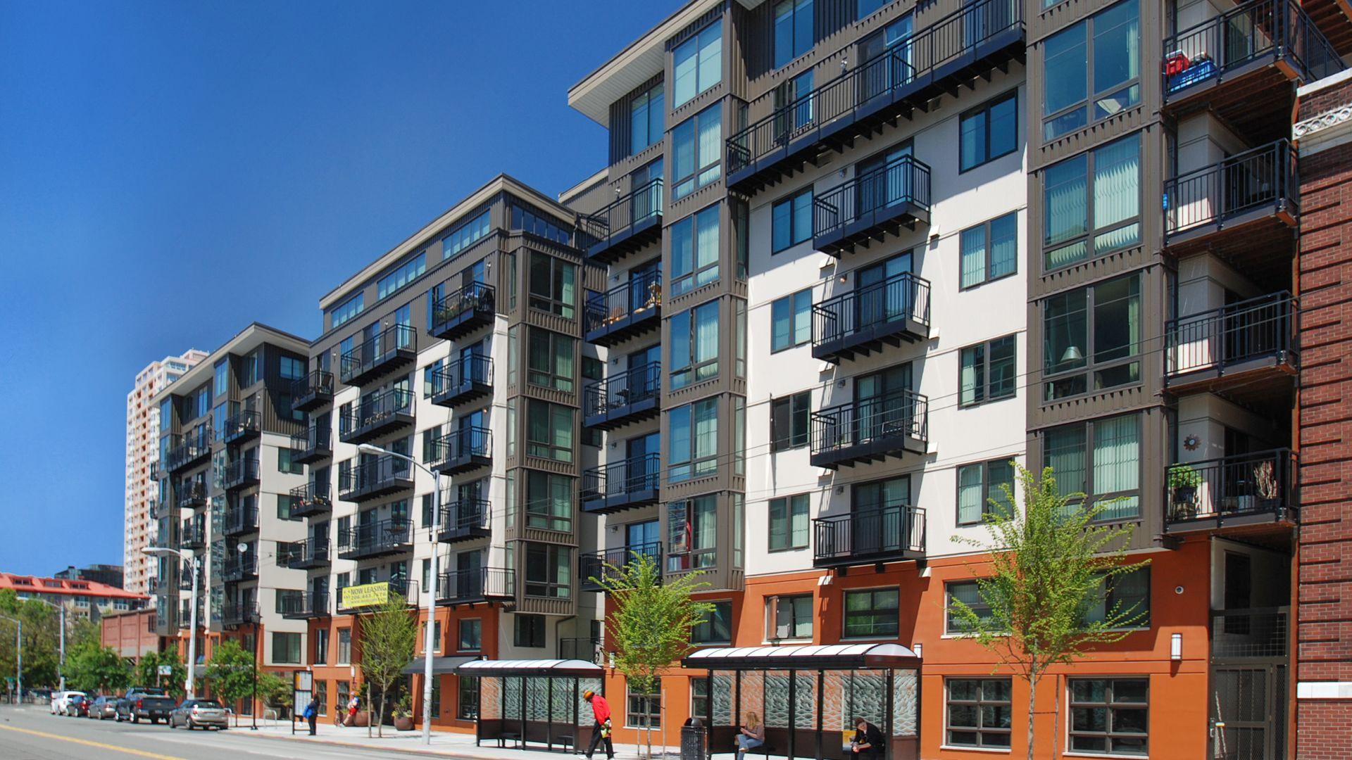 Moda Apartments In Belltown 2312 3rd Ave