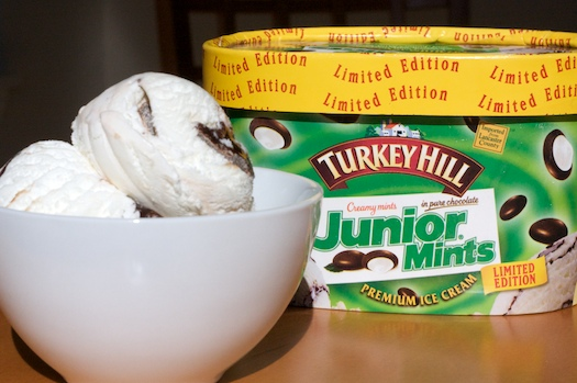 Junior Mint Ice Cream
