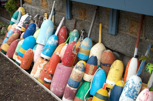 Rockport Rainbow of Buoys