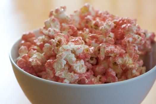 Pretty Pink Popcorn