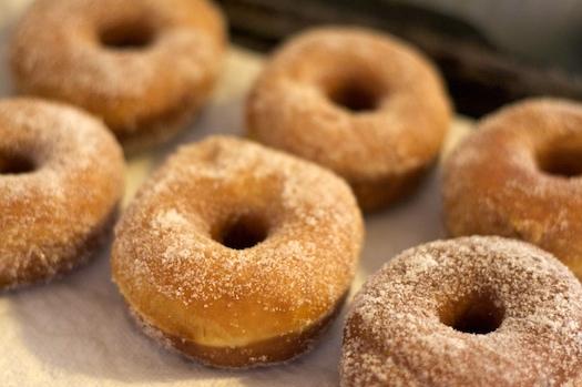 Sugar Coated Doughnuts
