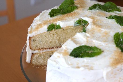 Mojito Cake!  Yum!