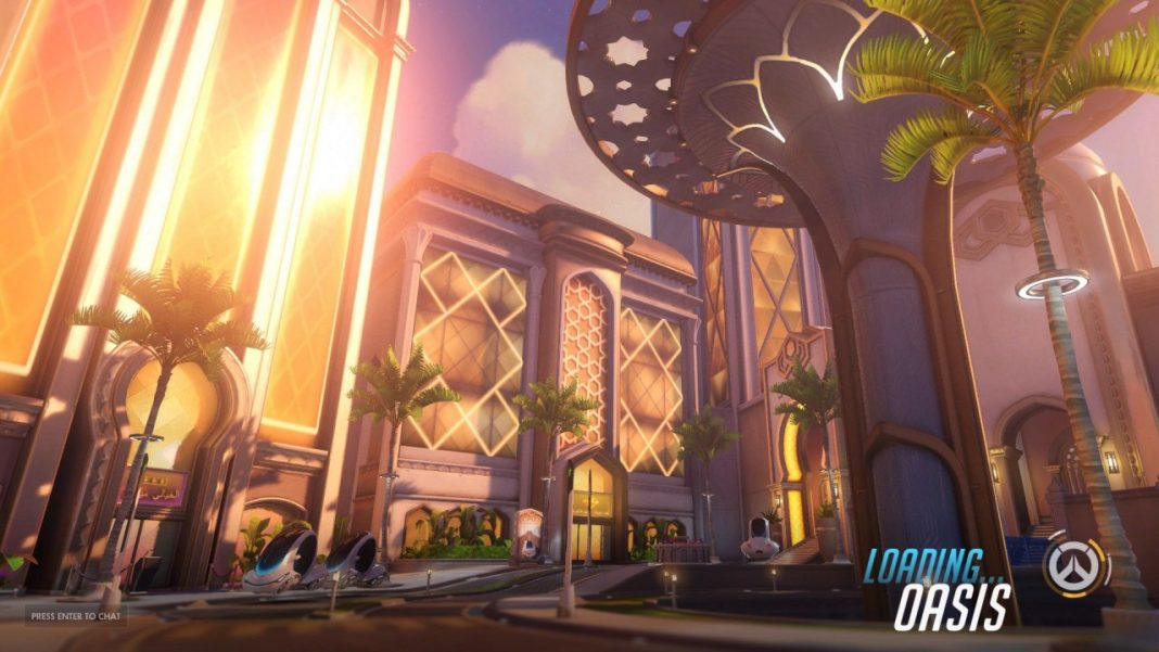 Buckle Up For Oasis Overwatchs Latest Map Esports Edition