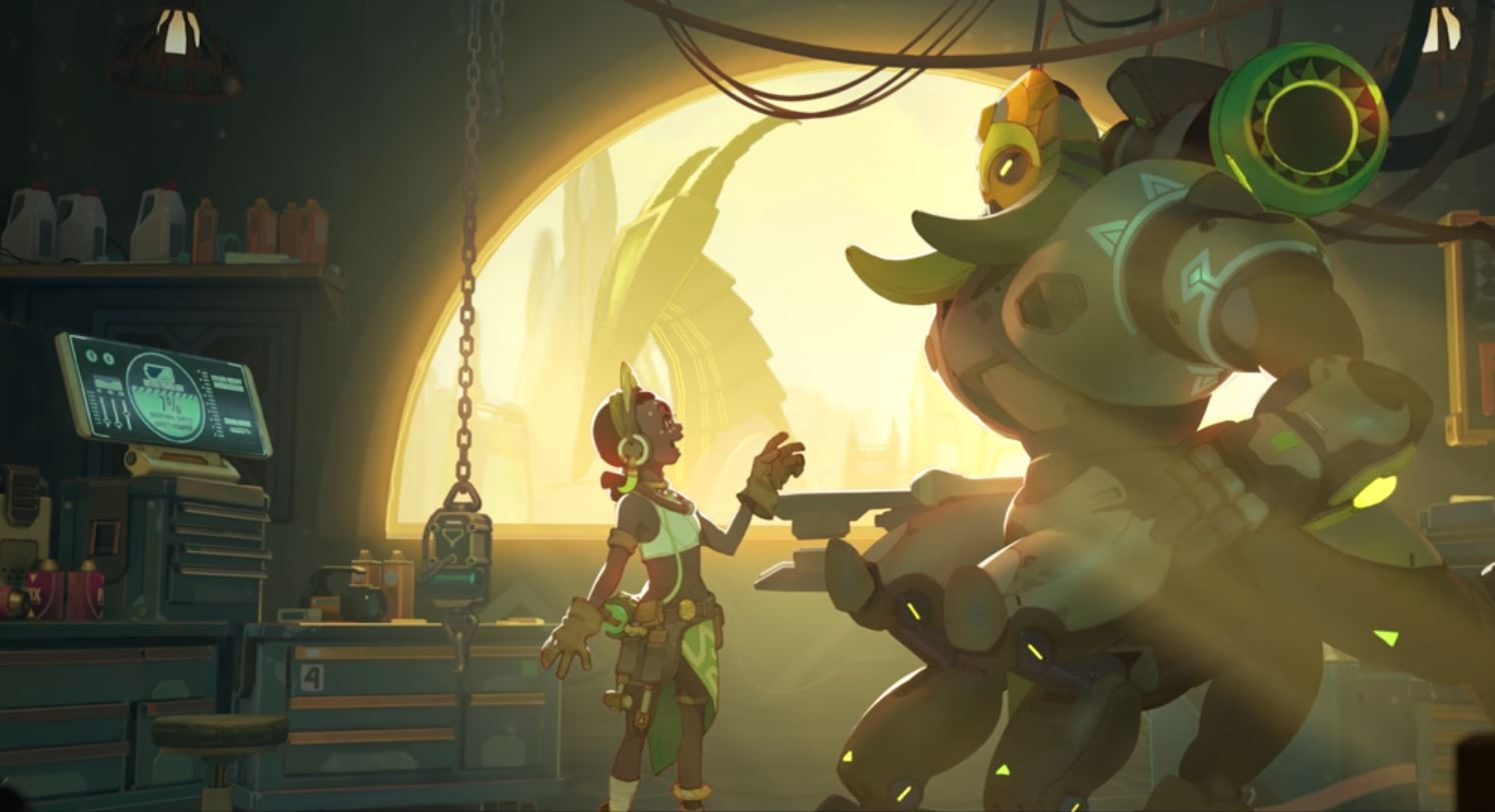Orisa Overwatch Adds Robot Tank To Hero Roster Esports