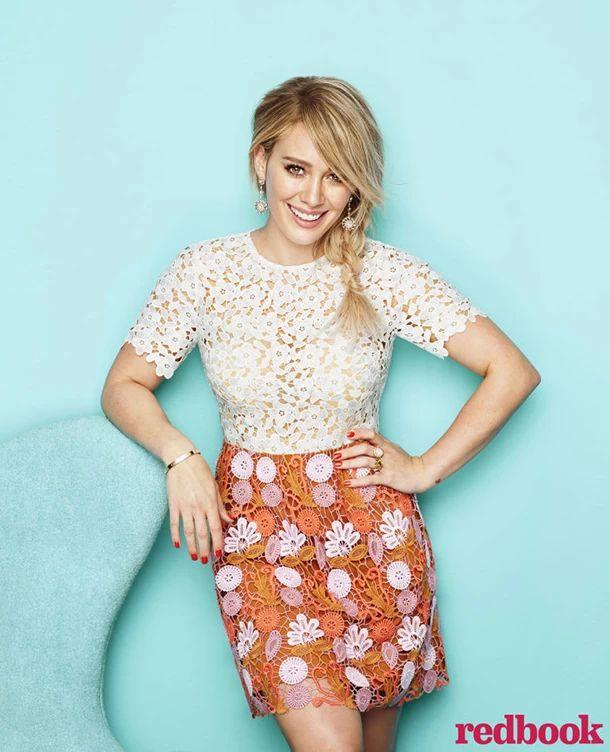 Hilary Duff in Redbook Magazine