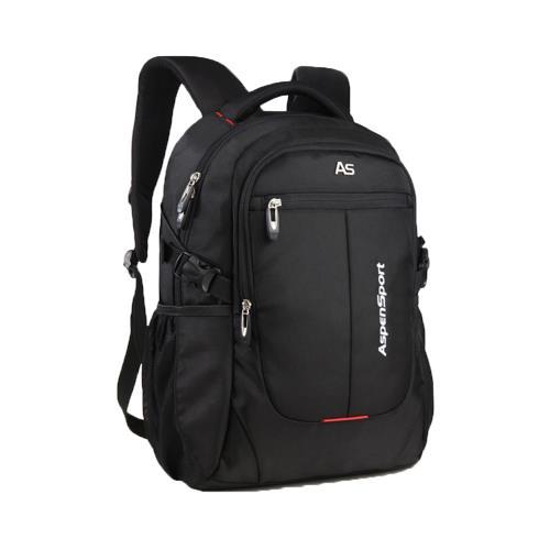PUSH!商務旅遊箱包用品1680D 防水雙肩背包電腦包商務包旅遊包學生書包U47