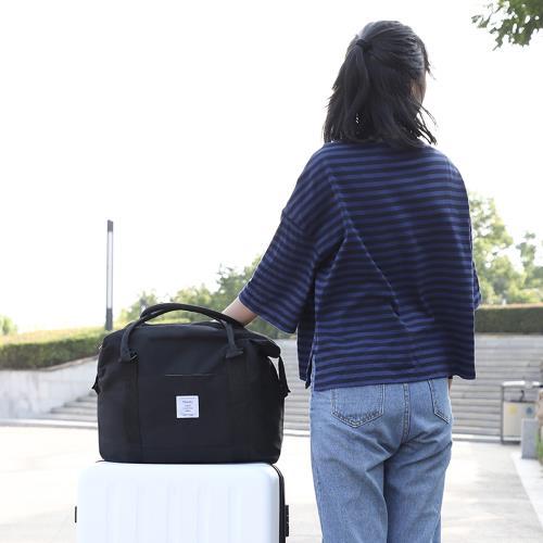 E.City_600D牛津布兩用行李袋