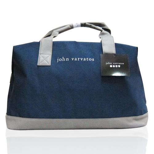 JOHN VARVATOS DUFFEL BAG 大旅行袋(藍)