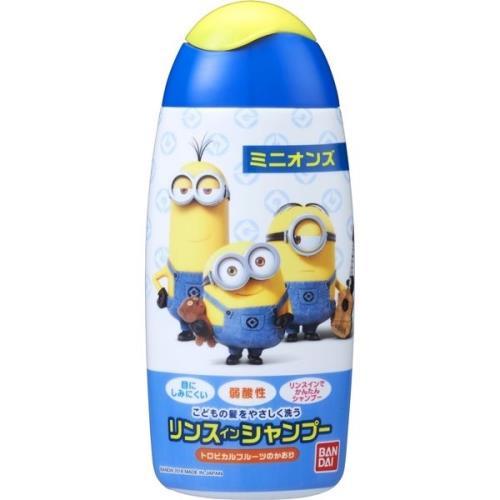 日本【Bandai】小小兵 兒童弱酸性洗髮精150ml