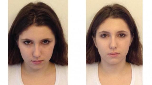 Downward head tilt can make people seem more dominant