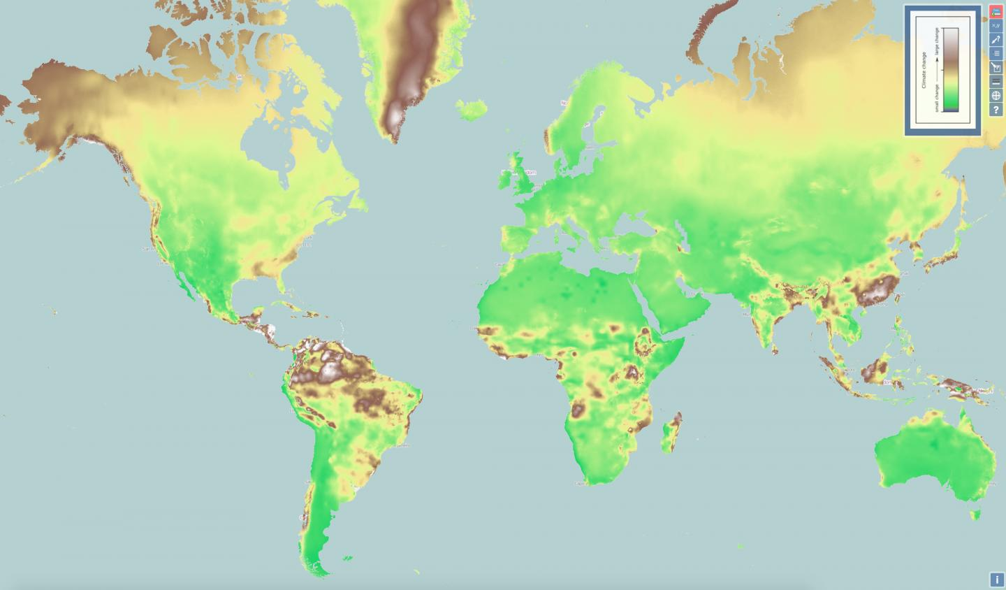 New Interactive Map Shows Climate Change Everywhere In