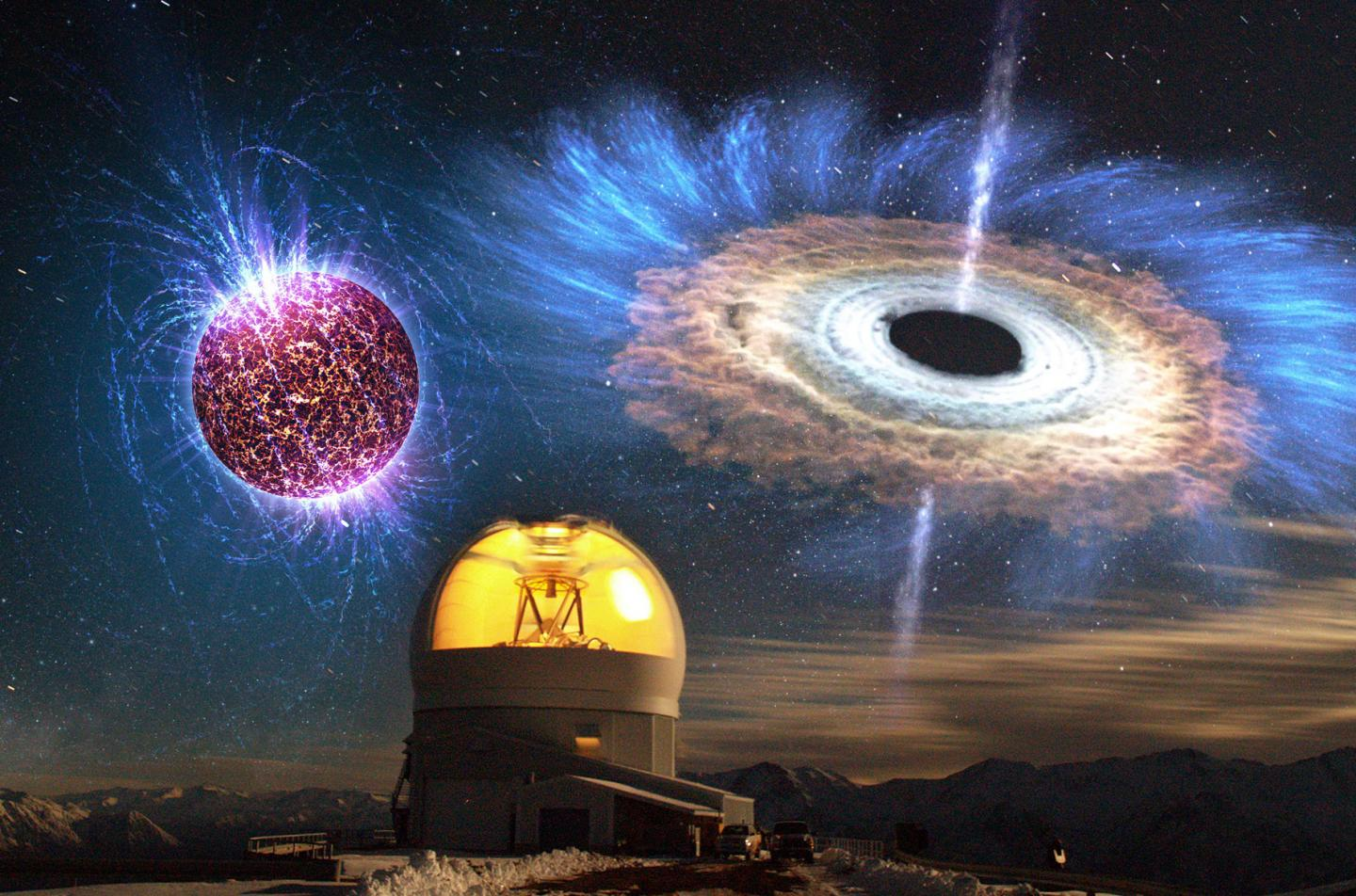 Unusual Supernova Opens A Rare Window On The Collapse Of A