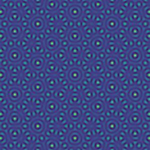 Use sound waves to make patterns that never repeat