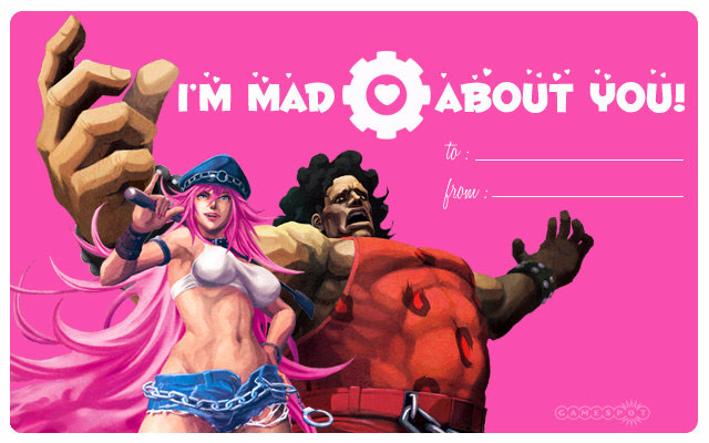 GameSpots Street Fighter X Tekken Valentines Day Cards 02
