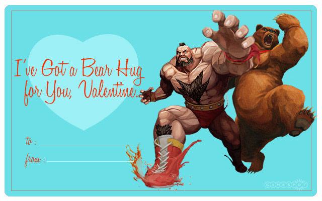GameSpots Street Fighter X Tekken Valentines Day Cards 03
