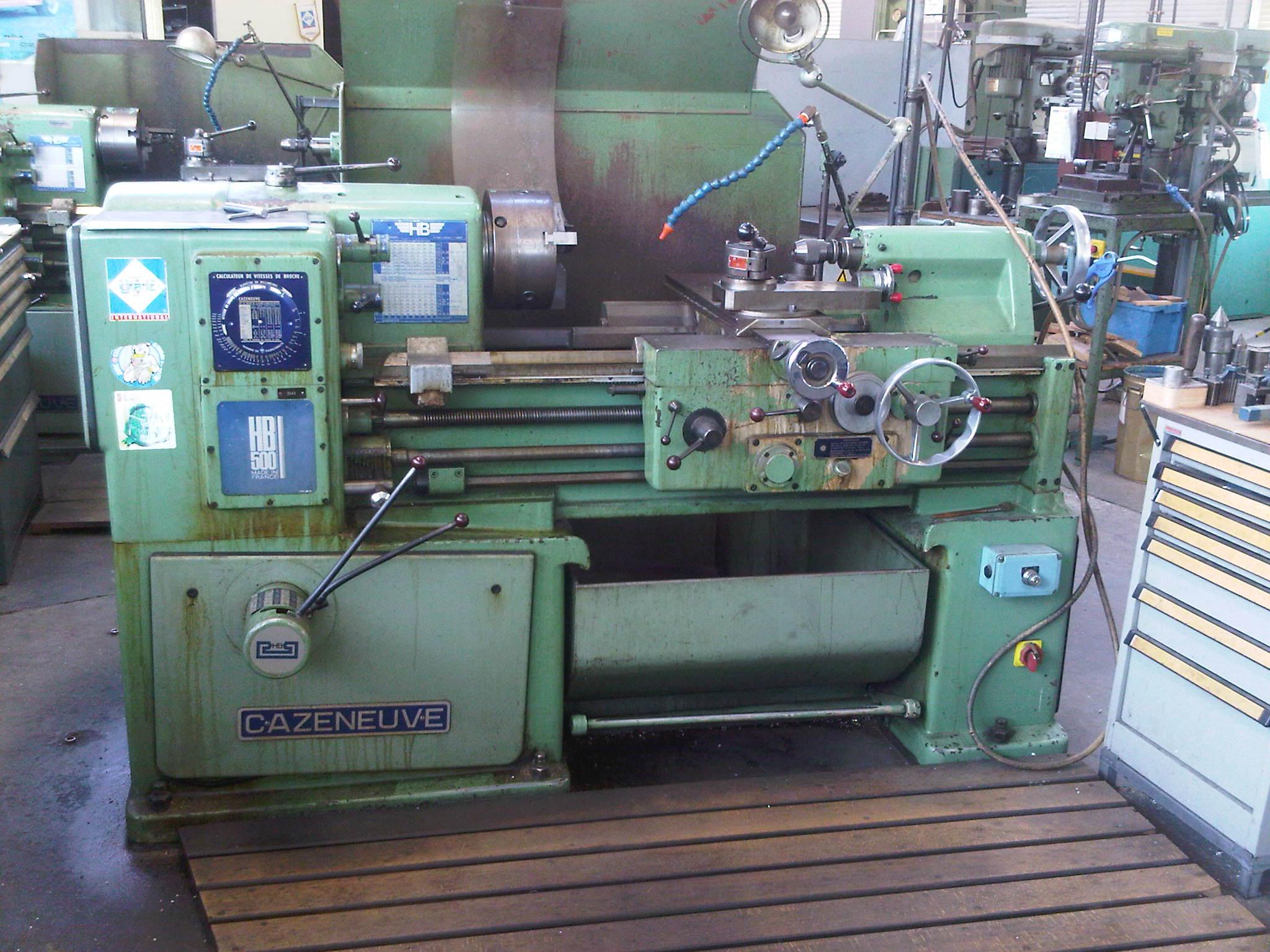 Tour CAZENEUVE HB500 Machines Doccasion Exapro